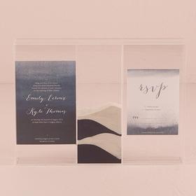 "Weddingstar 9373 ""Clearly Love"" Sand Ceremony Shadow Box"