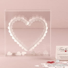 "Weddingstar 9374 ""From The Heart"" Transparent Acrylic Shadow Box"