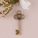 Weddingstar 9415 Antique Key Charm Style 3 - Intertwined Rings