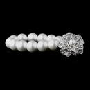 Elegance by Carbonneau B-1023-Silver-White Bracelet 1023 Silver White or Silver Ivory