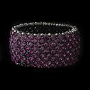 Elegance by Carbonneau b-1330-amethyst Amethyst Stretch Bracelet 1330