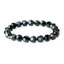 Elegance by Carbonneau B-201-Black Black Swarovski Crystal Bridal Bracelet B 201