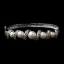Elegance by Carbonneau B-2422-Silver-White Bracelet 2422 Silver White