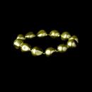 Elegance by Carbonneau B-8325-Green Green Crystal Stretch Bracelet 8325