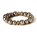 Elegance by Carbonneau B-8361-gold Bracelet 8361 Taupe