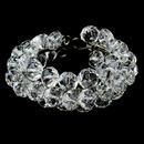 Elegance by Carbonneau B-8381-silverclear Bracelet 8381 Silver Clear