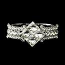 Elegance by Carbonneau B-8660-S-Clear Silver Clear Crystal Bridal Clasp Bracelet 8660