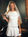 Elegance by Carbonneau Bridal-T-Shirt Wedding Women's Baby Doll T-Shirt