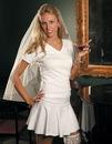Elegance by Carbonneau Bridal-VNEck-TShirt Wedding Women's V-neck T-Shirt