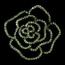 Elegance by Carbonneau Brooch-6277-AS-Lt-Green Brooch 6277 Antique Silver with Light Green Rhinestones