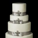 Elegance by Carbonneau Cake-Brooch-105 Decorative Crystal Cross Brooch 105