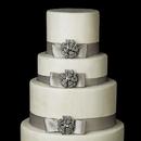 Elegance by Carbonneau Cake-Brooch-130 Decorative Floral Crystal Brooch 130