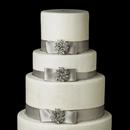 Elegance by Carbonneau Cake-Brooch-19 Decorative Crystal Wreath Brooch 19