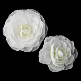 Elegance by Carbonneau Clip-404 Elegant Bridal Hair Clip Pair - Clip 404 with Brooch Pin