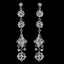 Elegance by Carbonneau E-1029-Silver-Clear Earring 1029 Silver Clear