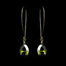 Elegance by Carbonneau E-1030-G-Green Earring 1030 Gold Green