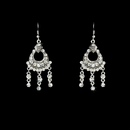 Elegance by Carbonneau E-20371-Silver-Clear Earring 20371 Silver Clear