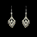 Elegance by Carbonneau E-20381-Silver-AB Earring 20381 Silver AB