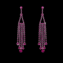 Elegance by Carbonneau E-20426-Fuchsia Earring 20426 Fuchsia