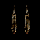 Elegance by Carbonneau E-20426-Gold-Brown Earring 20426 Gold Brown