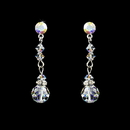 Elegance by Carbonneau E-236-AB AB Crystal Bridal Earrings E 236