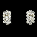 Elegance by Carbonneau E-24678-Clear Clear Rhinestone Clip On Earrings E 24678