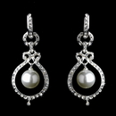 Elegance by Carbonneau E-25356-Silver Silver Clear Earring Set 25356