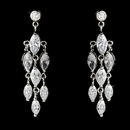 Elegance by Carbonneau E-2917-AS-Clear Cubic Zirconia Crystal Bridal Chandeliers E-2917