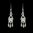 Elegance by Carbonneau E-800-Silver-Clear Earring 800 Silver Clear