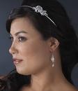 Elegance by Carbonneau E-8259-AB Clear AB Austrian Crystal Earrings 8259