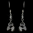 Elegance by Carbonneau E-8269-Silver-Grey Silver Grey Earrings 8269