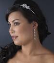 Elegance by Carbonneau E-937-Silver-Clear Earring 937 Silver Clear