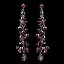 Elegance by Carbonneau e-938-pink Pink AB Earrings 938