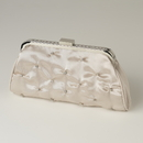 Elegance by Carbonneau EB-303-Champagne Champagne Satin Rhinestone Evening Bag 303