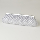 Elegance by Carbonneau EB-319-Silver Silver Pleated Satin Evening Bag 319