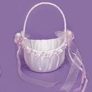Elegance by Carbonneau FB-0260 Bridal Flower Girl Basket FB 0260