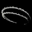 Elegance by Carbonneau HP-557 Bridal Headband HP 557