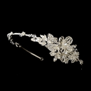 Elegance by Carbonneau HP-626-S-Clear Beautiful Crystal Side Accented Bridal Headpiece Headband HP 626