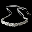 Elegance by Carbonneau HP-6467 Bridal Ribbon Headband HP 6467
