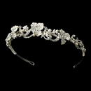 Elegance by Carbonneau HP-7803-S Floral Bridal Headpiece HP 7803