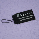 Elegance by Carbonneau JewelryTag Elegant Black Jewelry Tag