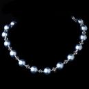 Elegance by Carbonneau N-8355-Light-Blue Necklace 8355 Light Blue