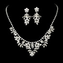 Elegance by Carbonneau NE-7207 Beautiful Swarovski Necklace Earring Set NE 7207