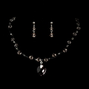 Elegance by Carbonneau NEC-7248-Pink Child's Necklace Earring Set 7248 Pink