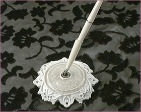 Elegance by Carbonneau PS-450-Vic Victorian Lace Bridal Pen PS 450