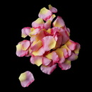Elegance by Carbonneau Two Tone Pink With Yellow Rose Petals - Color 24 (100 Petals In A Bag)