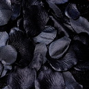 Elegance by Carbonneau Rose-Petals-Black Black Rose Petals (100 Count) #29