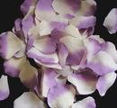 Elegance by Carbonneau Rose-Petals-Lavender-Ivory15 Lavender-Ivory Rose Petals (100 Count) #15
