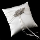 Elegance by Carbonneau RP-11-Brooch-3268 Ring Pillow 11 with Ribbon Brooch 3268