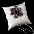 Elegance by Carbonneau RP-11-Brooch-8798 Ring Pillow 11 with Marquise Crystal & Rhinestone Brooch 8798